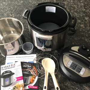 Instant Pot Ultra Programmable Pressure Cooker
